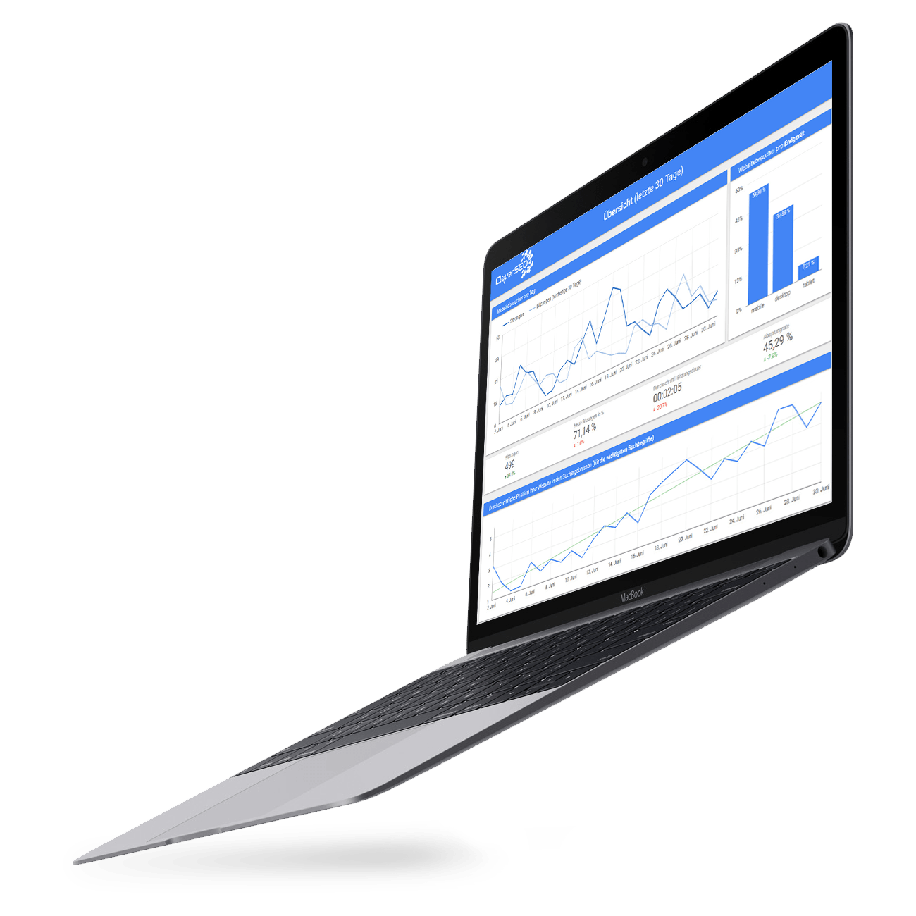 SEO Analyse Laptop